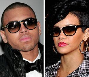 Chris and Rihanna Back to L.A.