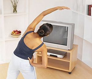 Exercises to Do While You Watch 'Extra'!