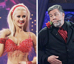 Holly and Woz Head Home on 'Dancing'