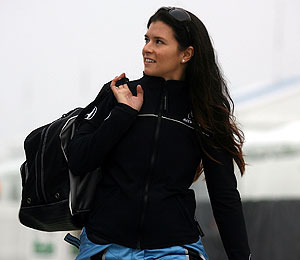 Danica Dishes Her Celebrity Crush