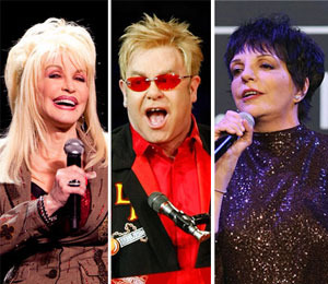 Dolly, Elton and Liza to Perform at Tonys!