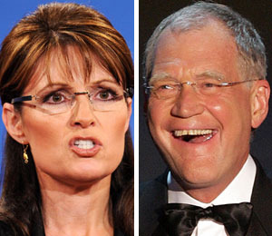 Palin vs. Letterman: It's War!