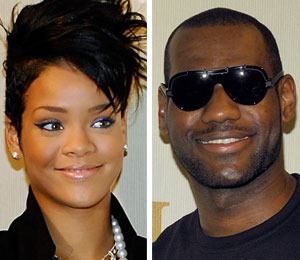 RiRi and LeBron: Rumor Foul