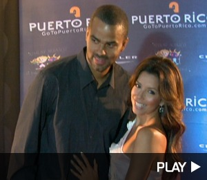 Eva and Tony -- in Puerto Rico!