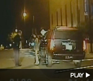 McNair Mistress' DUI Arrest Caught on Tape