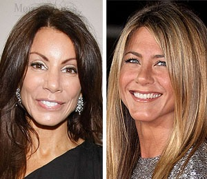 'Housewife' Danielle Staub Invites Aniston to NJ