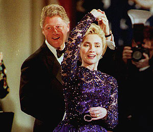VOTE: Bill Clinton on 'Dancing'