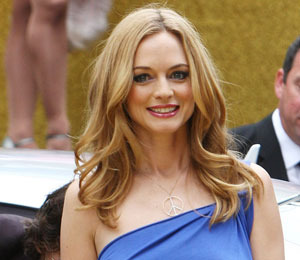 Heather Graham Suits-Up for Politics