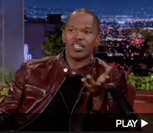 Jamie Foxx Explains Nude Pic on 'Conan'