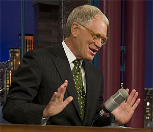 Letterman in Hot Water with NOW
