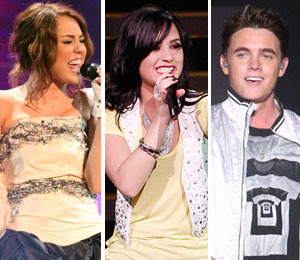 Miley, Demi and Jesse: Big Love for City of Hope