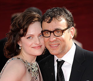 'Mad Men's' Elisabeth Moss Weds 'SNL's' Fred Armisen