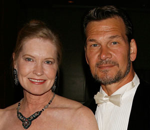 Swayze's Widow: 'I Was Afraid to Leave his Side'