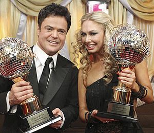 Donny Osmond Uses 'DWTS' Trophy for 'Centerpiece'