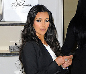 Kim Kardashian: These Boots Are Made for Blogging