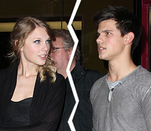 Taylor Swift, Taylor Lautner Call It Quits