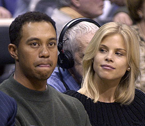 Agent Denies Tiger and Elin Fight Report