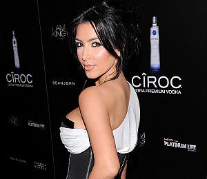 Kim Kardashian Jokes About Skinny Dipping