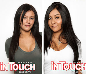 Pics! 'Jersey Shore' Girls Go Au Naturel