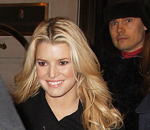 Jessica Simpson Steps Out With Billy Corgan