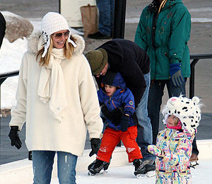 Heidi Klum's Family Winter Wonderland