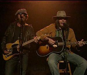 Jimmy Fallon and Bruce Springsteen 'Whip Their Hair'