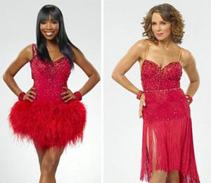 Extra Scoop: Brandy and Jennifer Grey Tie at Top on 'DWTS'! Plus, LiLo & More!
