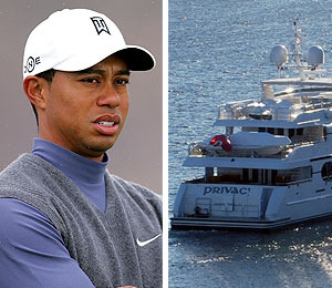 Photo! Tiger Woods' Yacht Sets Sail