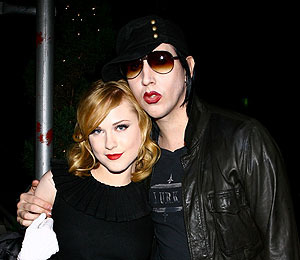 Marilyn Manson, Evan Rachel Wood Engaged