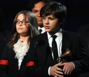 Michael Jackson's Kids Accept Grammy on Father's Behalf