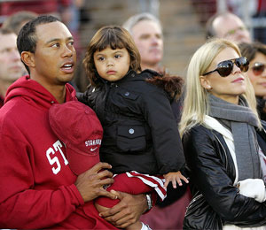 Tiger Woods' Wife is Back in Orlando with Kids