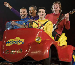 The Wiggles Put on a 'Big, Big Show'