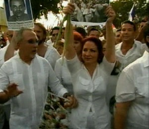 Gloria Estefan Leads Protest Against Cuban Government