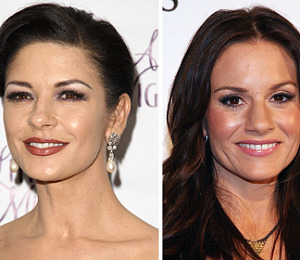Catherine Zeta-Jones and Kara DioGuardi -- Nude Pix!