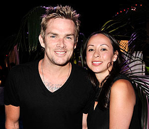 Mark McGrath Welcomes Twins