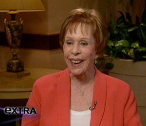'Extra' Surprises Carol Burnett