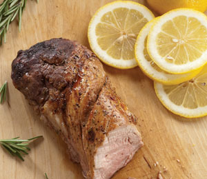 """Extra Lean's"" Recipe for Lemon and Herb Pork Tenderloin"