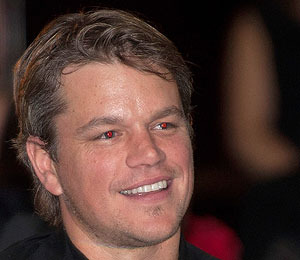 Matt Damon Has Hope for the Children
