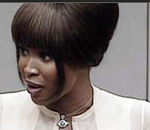 Naomi Campbell Admits Getting 'Blood Diamonds'