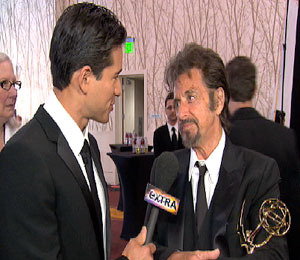 Al Pacino's Fatherly Advice for Mario Lopez