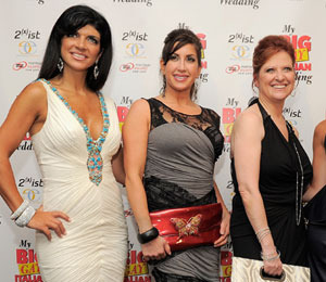 'NJ Housewives' Serve Up Dish after Crazy Reunion
