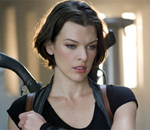 Trailer! Milla Jovovich in 'Resident Evil: Afterlife'