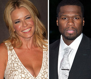 Are Chelsea Handler and 50 Cent an Item, Lately?