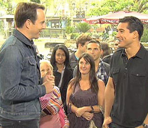'Extra' Raw! Will Arnett at The Grove