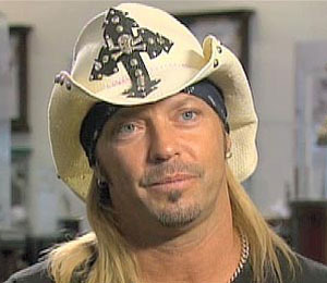 'Extra' Raw! Bret Michaels Rockin' the NFL