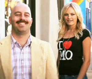 Malin Akerman Wants You to Grow Your Moustache!