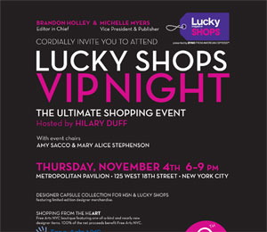 You're Invited to Lucky's VIP Night with Hilary Duff