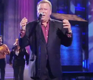 William Shatner Sings '$#*!' on 'Lopez Tonight'