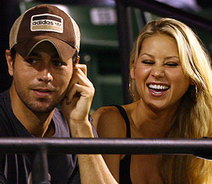 'Extra' Raw! Enrique Iglesias' Late-Night Date!