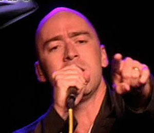 Ed Kowalczyk Performs at 'Extra'